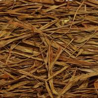 Рафия коричневый двухцветный