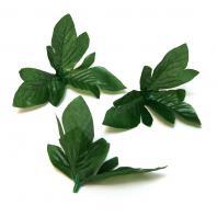 Листья для изготовления цветов