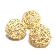 Ротанг шарики декоративные