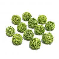Шарики зеленые маленькие