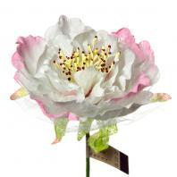 Цветы из ткани для заколок и украшений