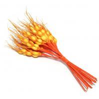 Колоски оранжевые искусственные