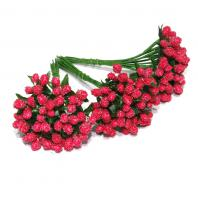 Красные сахарные ягодки для флориста