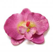 Орхидея фиолетовая головка