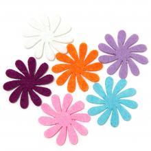 Цветы из фетра сделать