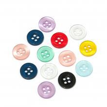 Прозрачные пуговицы недорого пластиковые