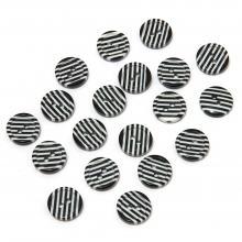 Черно-белые пуговицы