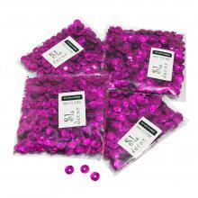 Пайетки перламутровые розовые