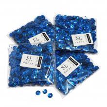 Пайетки голографические синие