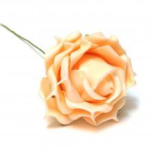 Розочка персиковая латекс