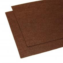 Фетр шоколадный листовой
