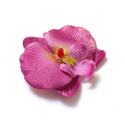 Искусственные цветы фиолетовые орхидеи
