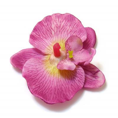 Головка фиолетовой орхидеи