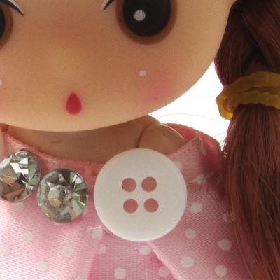 Декоративные материалы для изготовления кукол