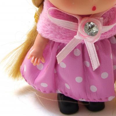 Куколка в розовом брелок