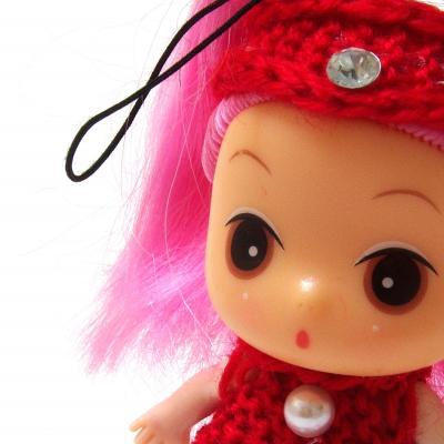 Интерактивная японская куколка мини