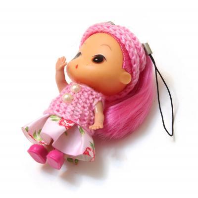 Куколка маленькая брелочек