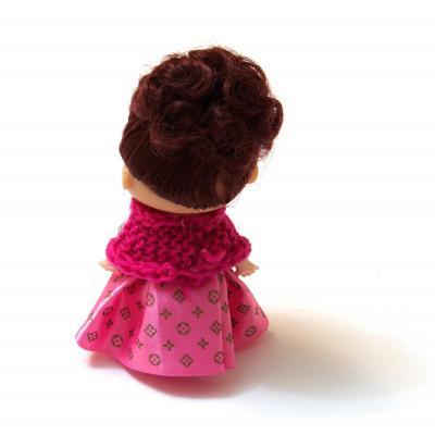 Куколка маленькая брелок для телефона
