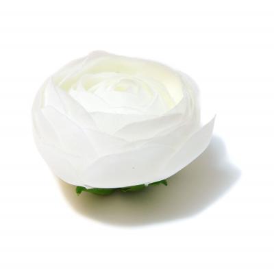 Белая камелия шелковые цветы