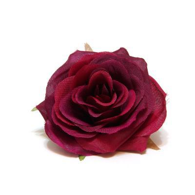Головка розы бордо