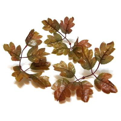 Листья коричневые для декора