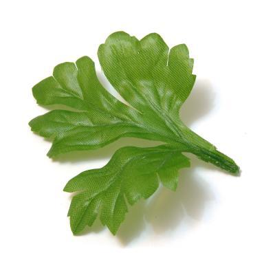 Листья зеленые искусственные