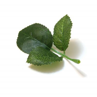 Листья для цветов искусственные