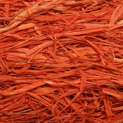 Оранжевая рафия