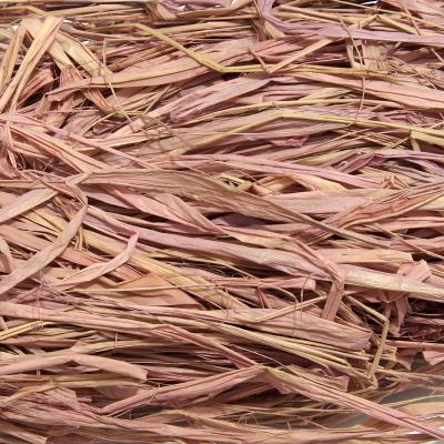Рафия кремово-розовая