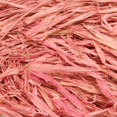 Рафия розовая