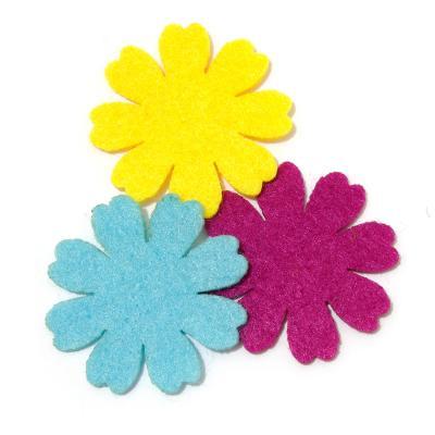 Цветочки из фетра недорого