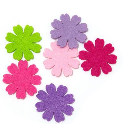 Фетр для поделок цветочки