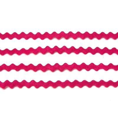 Ленты тонкие из фетра волнистые