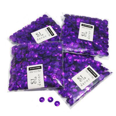 Пайетки перламутровые фиолетовые