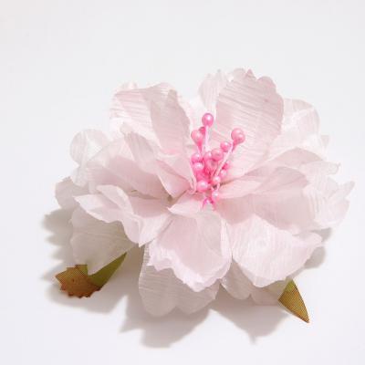 Головка розового пиона