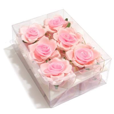 Головки розовой розы оптом