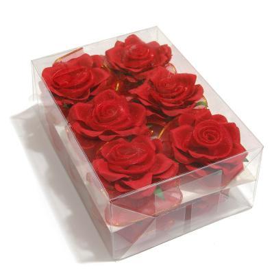 Головки красных роз для свадьбы