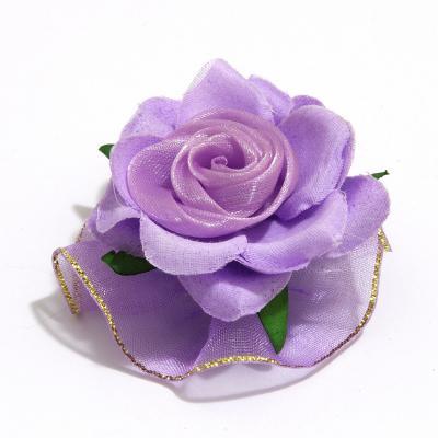 Головки фиолетовых роз