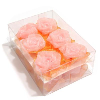 Головки роз органза розница опт
