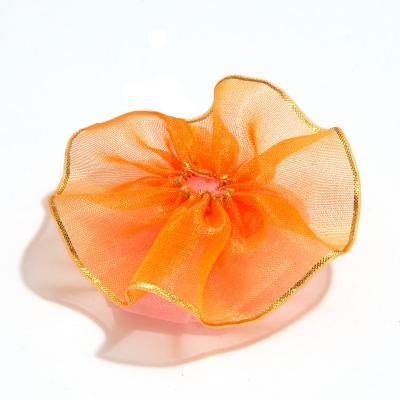 Оранжевая головка розы