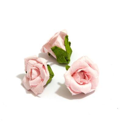 Головки розочек розовые маленькие
