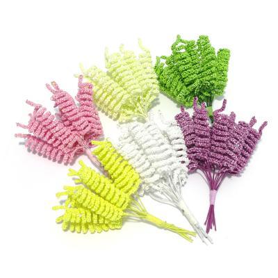 Возможные расцветки маленьких декоративных спиралек