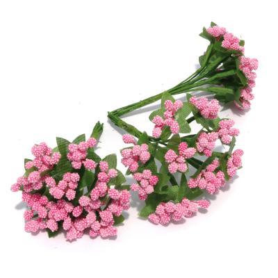 Веточки розовые маленькие декоративные