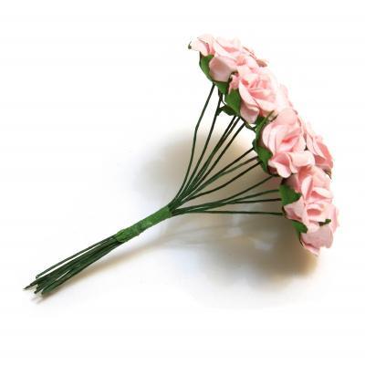 Розочки мини розовые