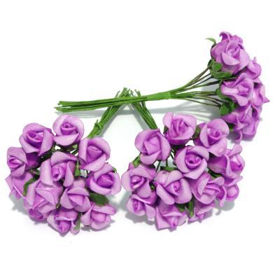 Мини розочки фиолетовые