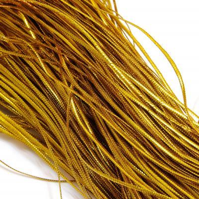 Шнурок декоративный золотой