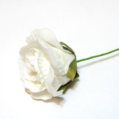 Белые розы из латекса