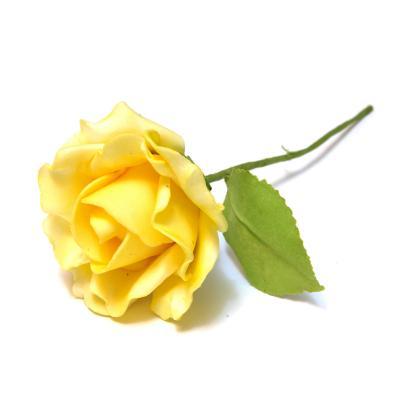 Розы желтые латекс
