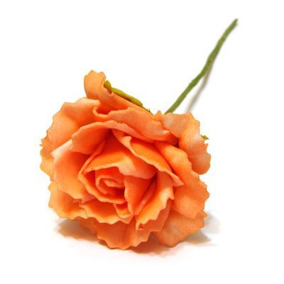 Розочка пенка оранжевая