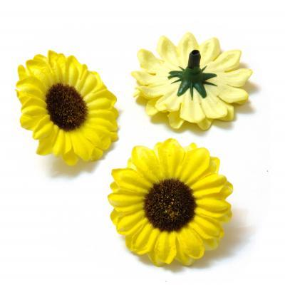 Маленькие желтые ромашки латекс